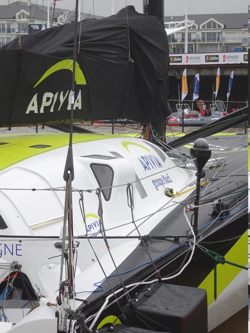 Vendée Globe 2020 , les bateaux Dsc08322
