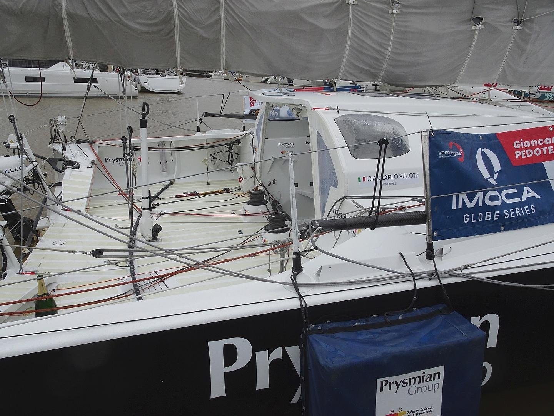 Vendée Globe 2020 , les bateaux Dsc08344