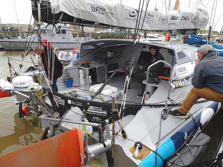 Vendée Globe 2020 , les bateaux Dsc08353