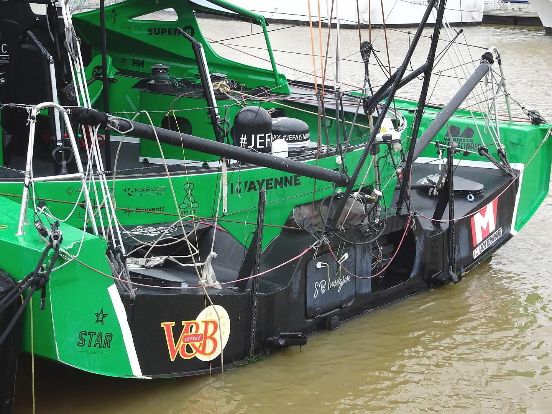 Vendée Globe 2020 , les bateaux Dsc08355