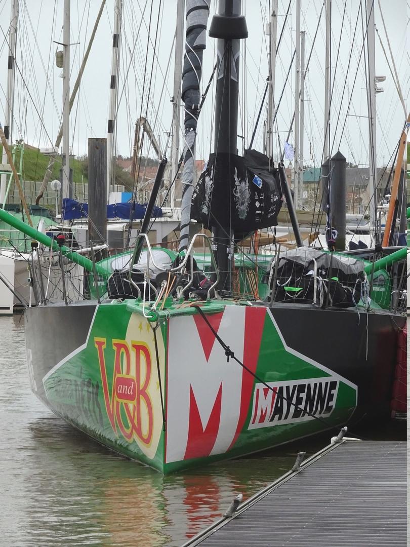 Vendée Globe 2020 , les bateaux Dsc08357