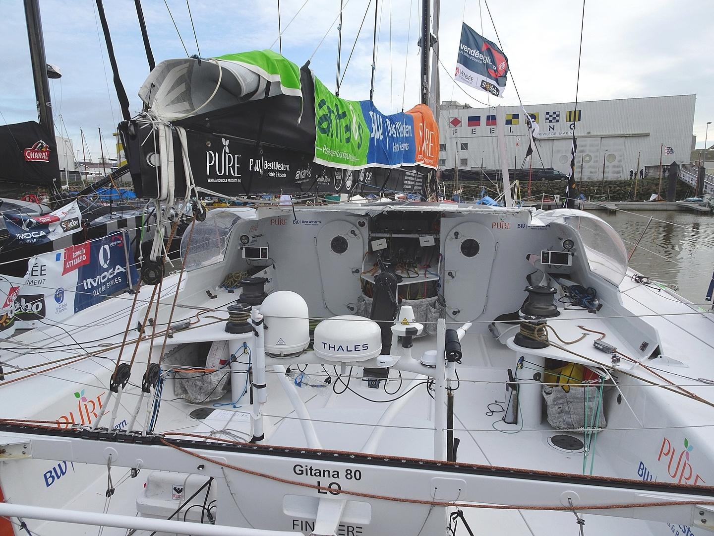 Vendée Globe 2020 , les bateaux - Page 2 Dsc08415
