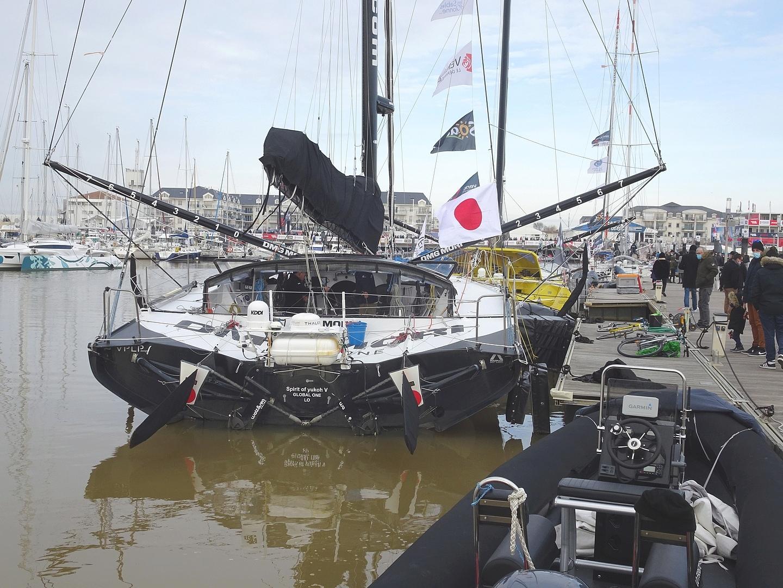 Vendée Globe 2020 , les bateaux - Page 2 Dsc08422