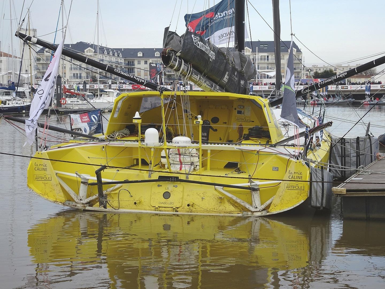 Vendée Globe 2020 , les bateaux - Page 2 Dsc08426
