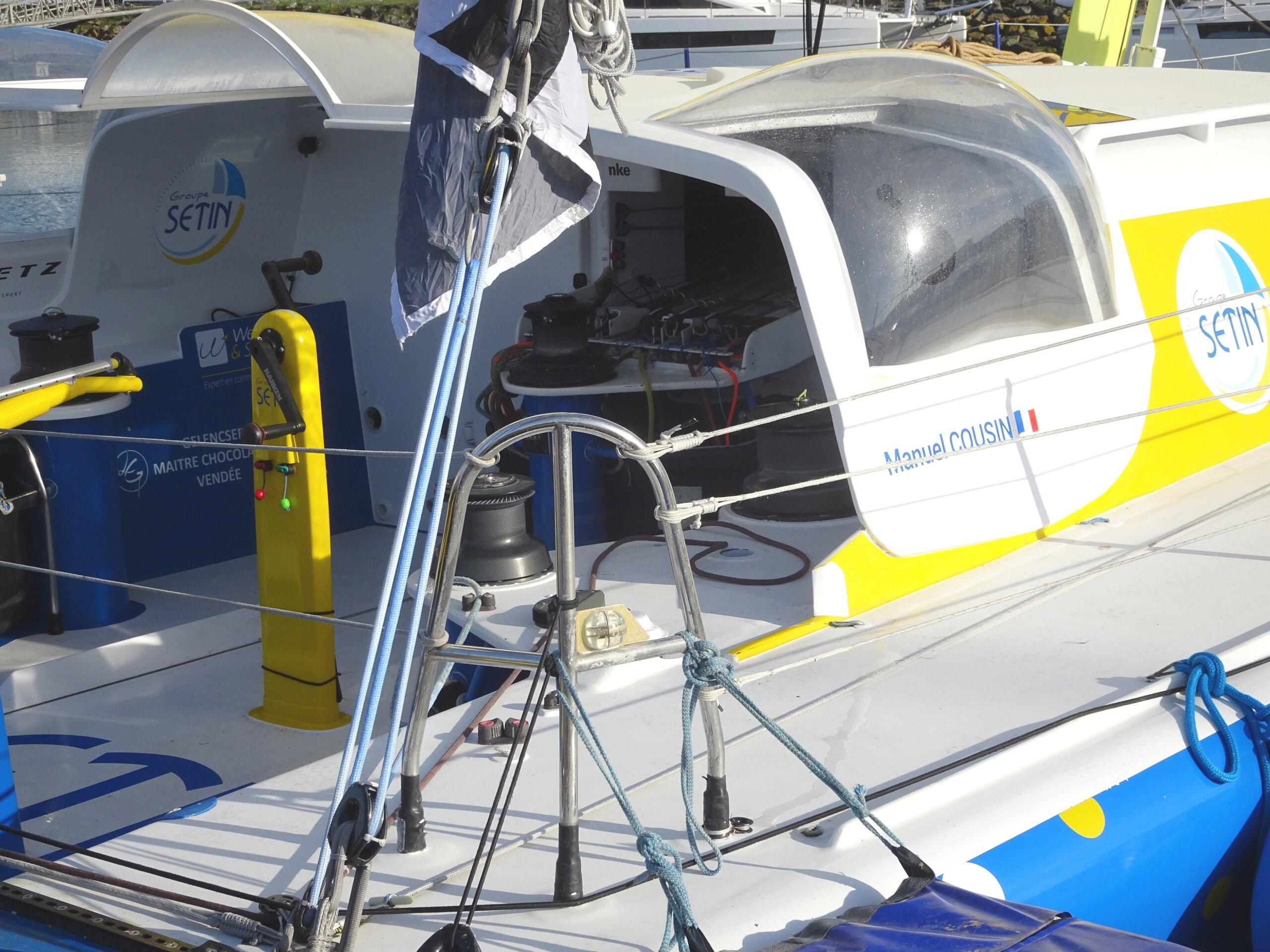 Vendée Globe 2020 , les bateaux - Page 2 Dsc08437