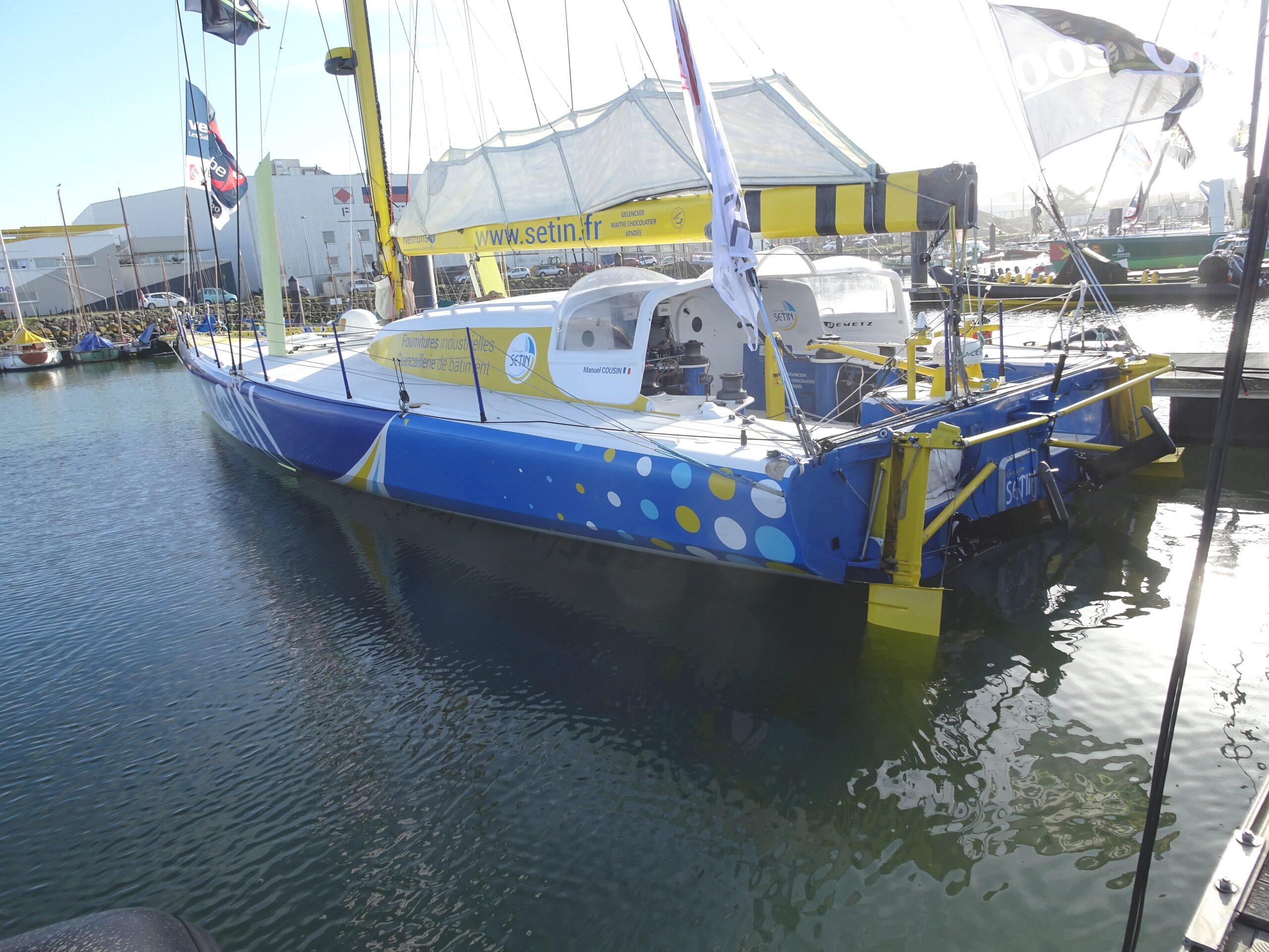 Vendée Globe 2020 , les bateaux - Page 2 Dsc08440