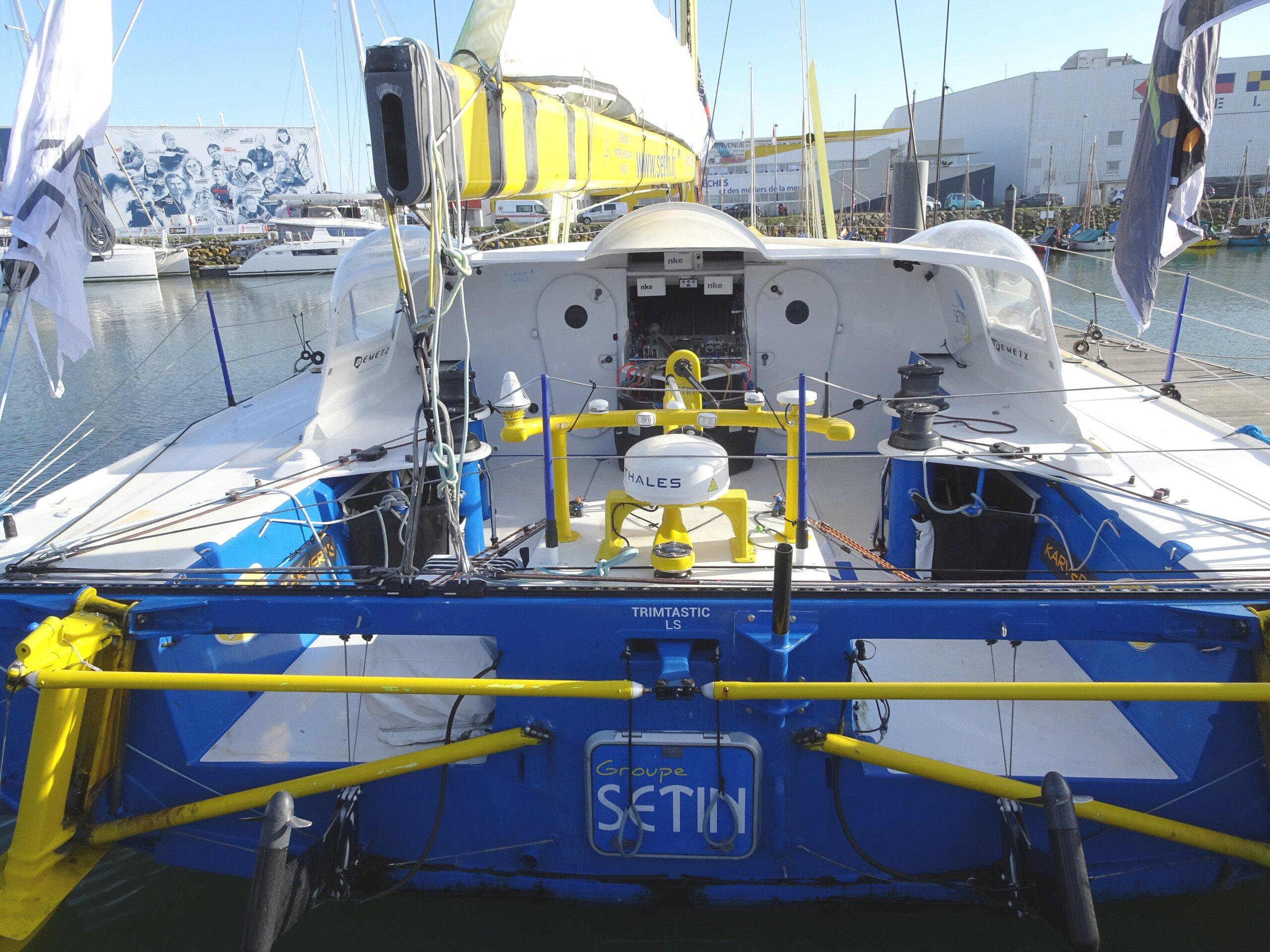 Vendée Globe 2020 , les bateaux - Page 2 Dsc08441