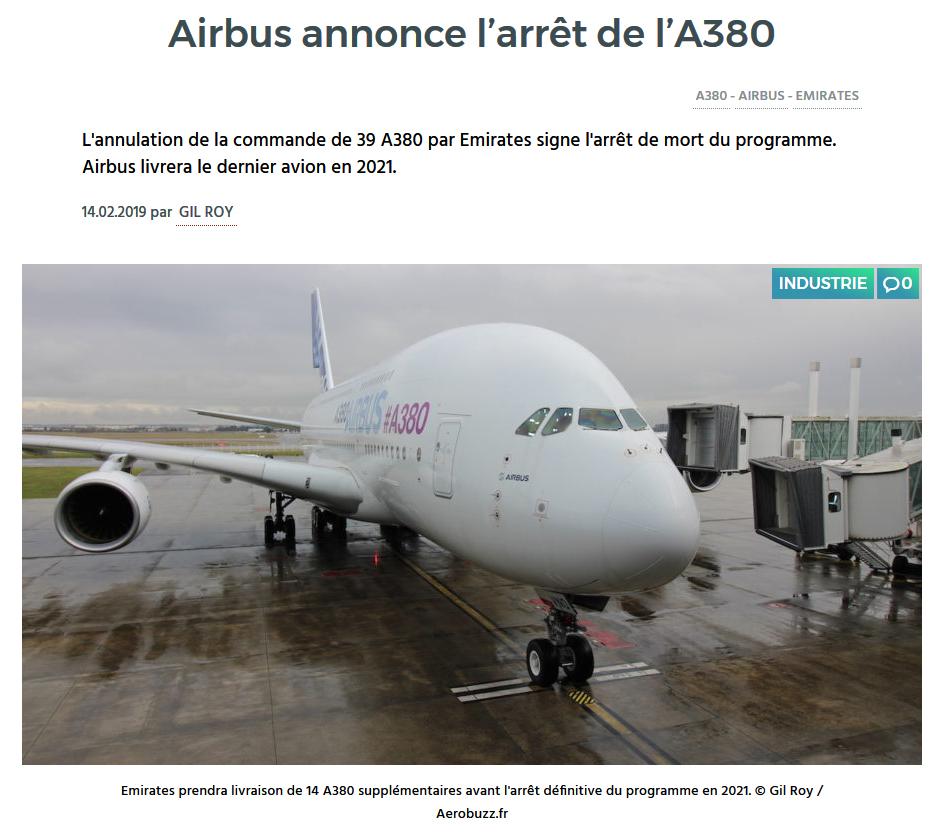 Des nouvelles de l'Airbus A380 - Page 12 Fin_a310