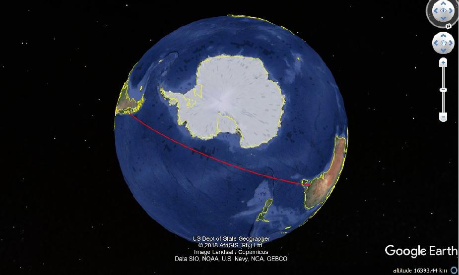 radarvirtuel.com/Flightradar24.com : tous les avions en vol en direct sur une carte - Page 4 Melbou10