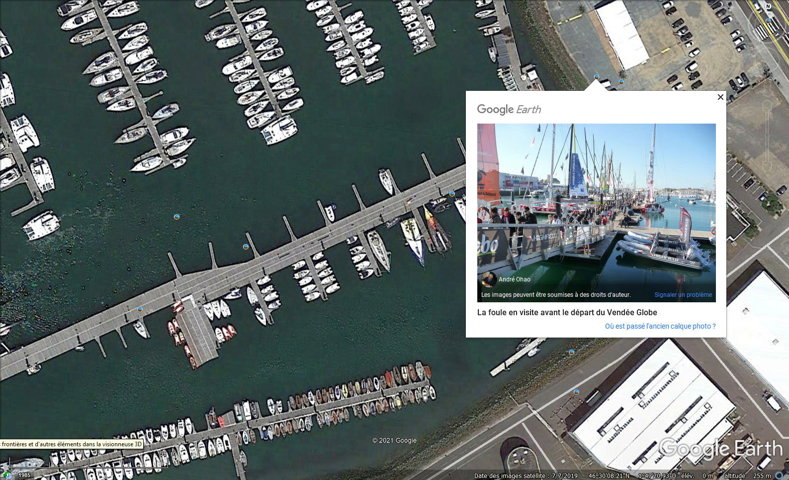 Vendée Globe 2020 , les bateaux Quai_v10