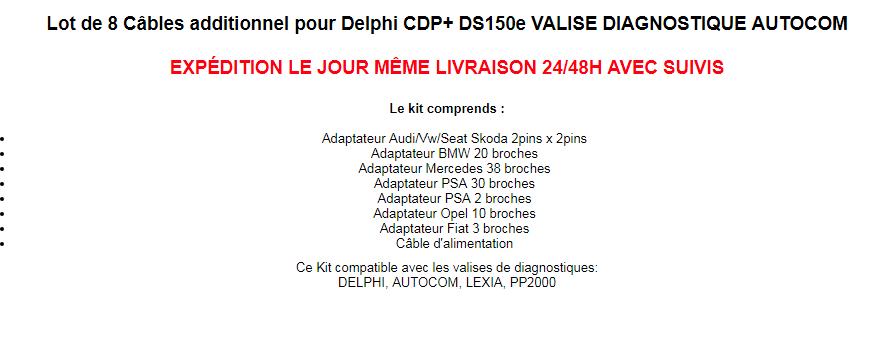 ELM 327 et delphi150e Adapta10