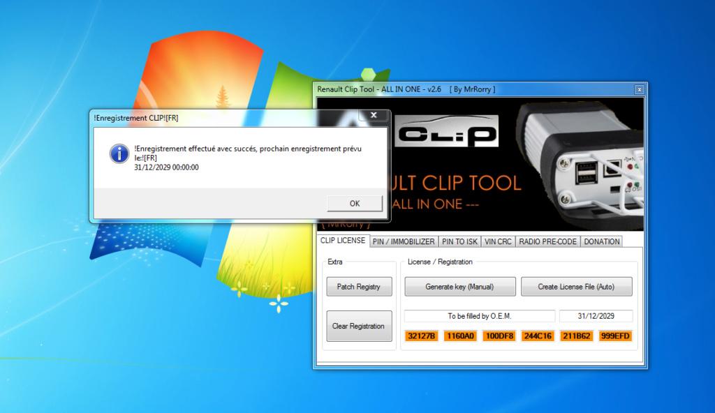 activation clip avec renault clip tool Clip_t12