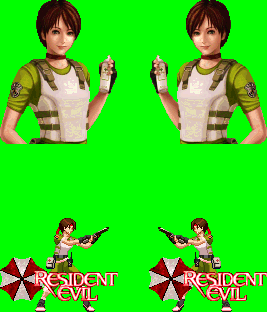 Rebecca from resident evil released. Rebecc12