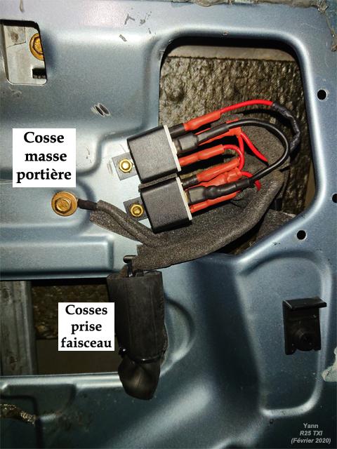 Vitres électriques arrière lentes (même bien graissées) Photo_13