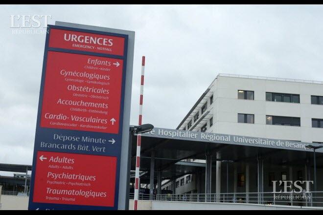 Besançon : renvoyée des urgences, elle fait une fausse couche chez elle 210