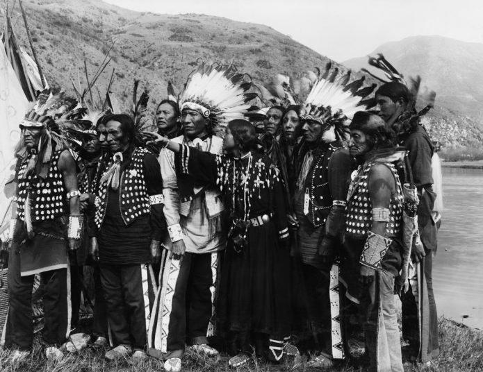 Carte des tribus Indiennes absente des livres d'histoire 213