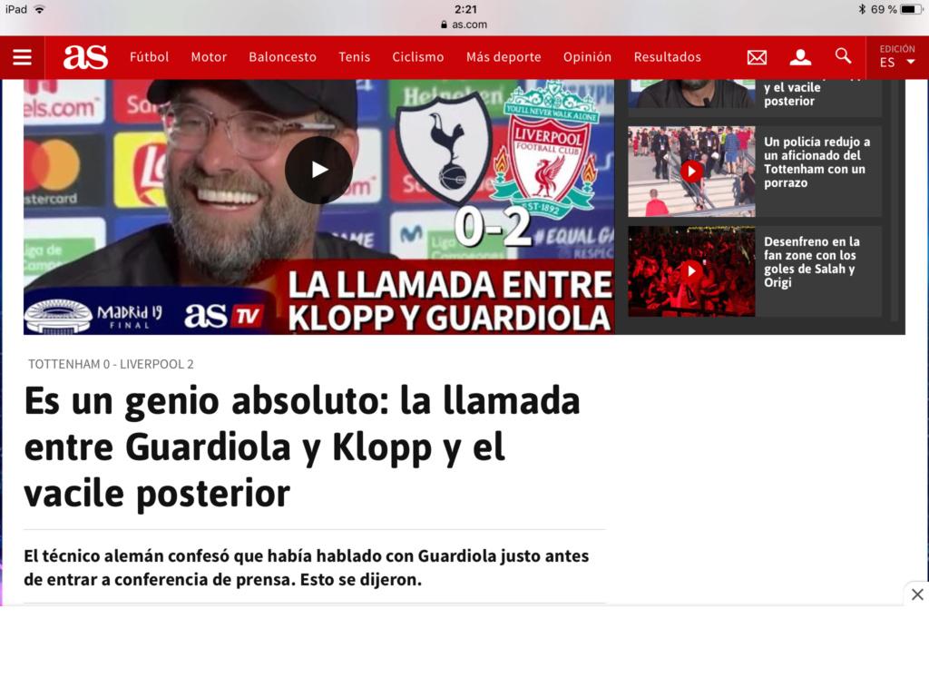 Pep Guardiola: Sigue en vigor la TREGUA VERANIEGA. Pero ya empieza La Premier. La Premier - Página 3 20abdf10