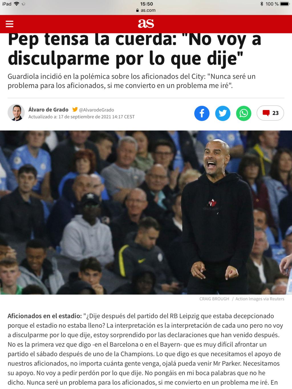 Pep Guardiola (el original, no la cover) Campeones de la Premier 2020/21!!!! Don`t look back in anger!!!!!!!!!!! - Página 2 34ac6e10