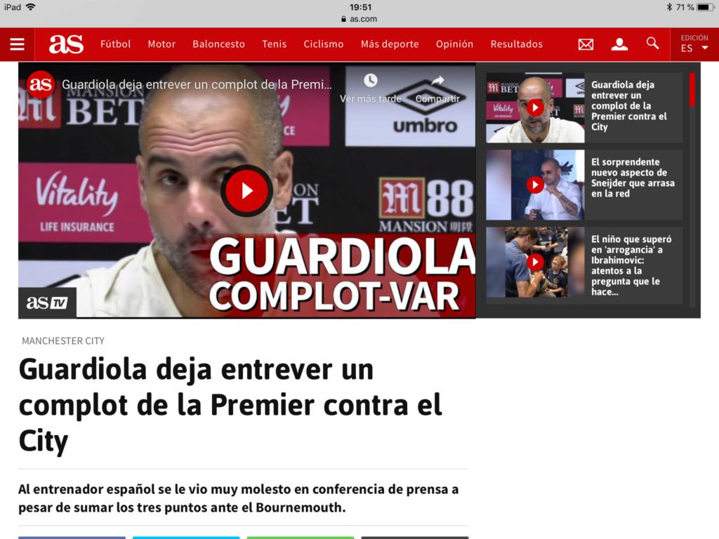 Pep Guardiola: Sigue en vigor la TREGUA VERANIEGA. Pero ya empieza La Premier. La Premier - Página 12 36bd2a10