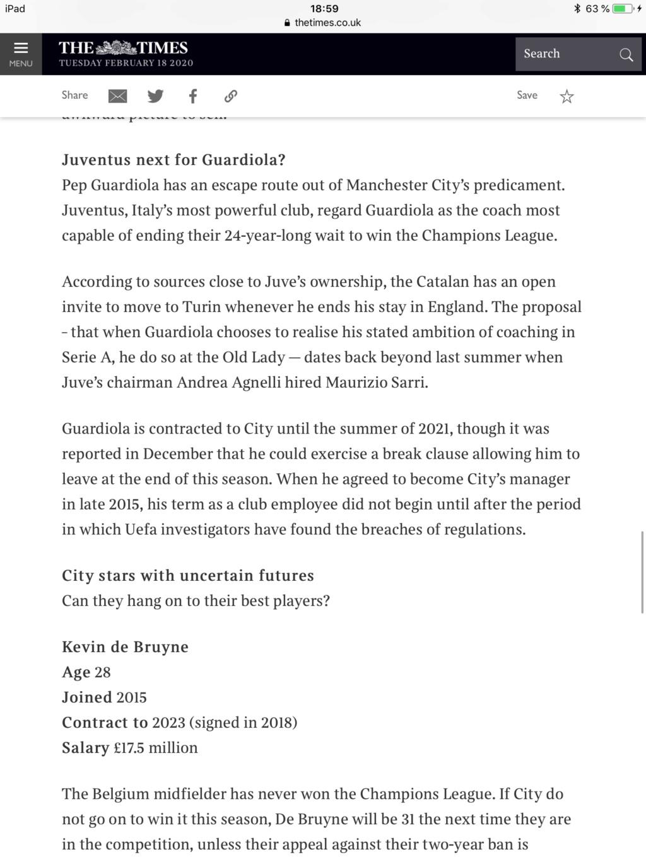 Pep Guardiola: Winter is Coming. A veintidó, veintidó, veintidó del líder de la Premier. La Premier - Página 20 40bd3c10