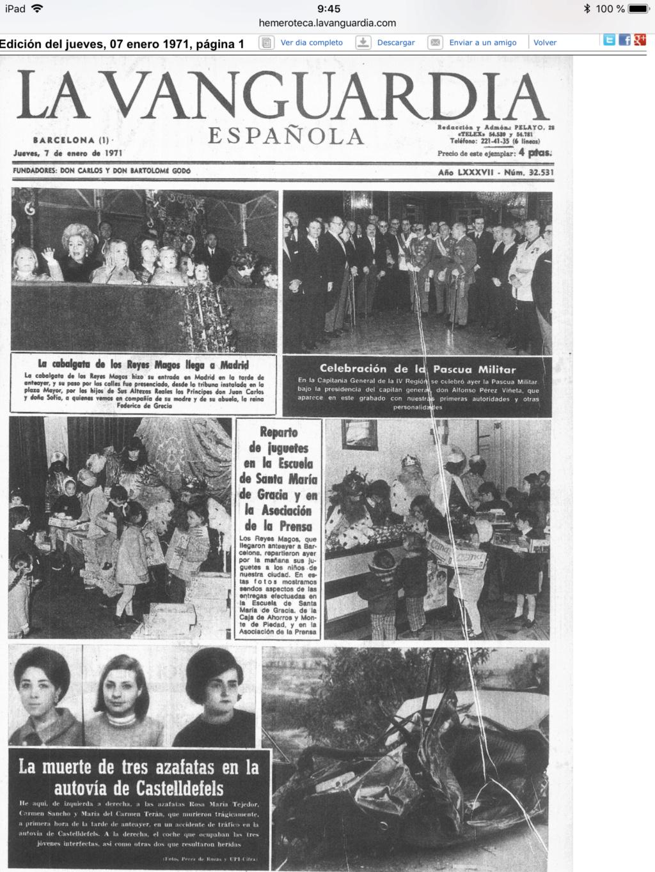 En este topic es 1971 (Concretamente la semana del 4 al 10 de enero) Be6c3410