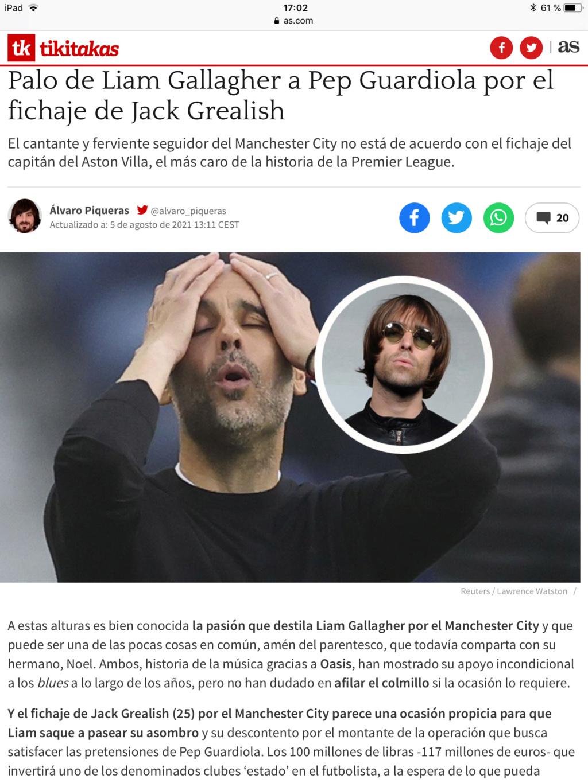Pep Guardiola (el original, no la cover) Campeones de la Premier 2020/21!!!! Don`t look back in anger!!!!!!!!!!! - Página 19 D0939c10