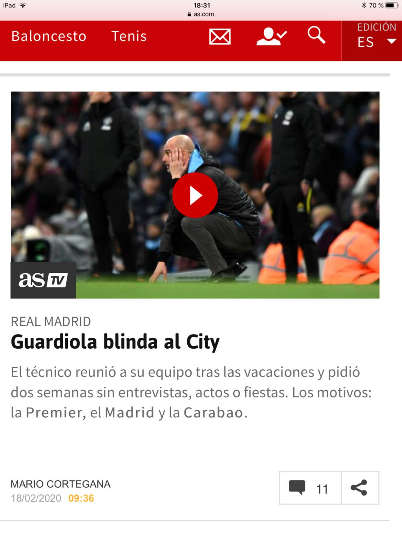 Pep Guardiola: Winter is Coming. A veintidó, veintidó, veintidó del líder de la Premier. La Premier - Página 20 E3251910