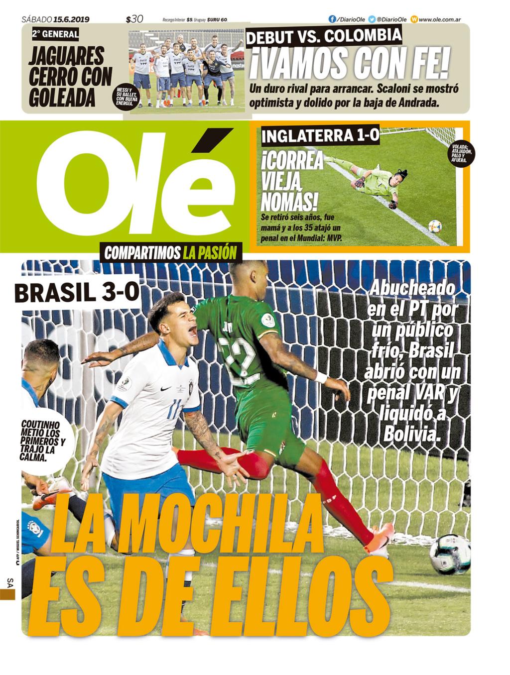 Vamos, vamos, Argentina. Esa Copa linda y deseada - Página 9 Ole_2011