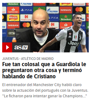 "Pep Guardiola: ""I am for fair football, for fair decisions"" I'm sorry Scree261"