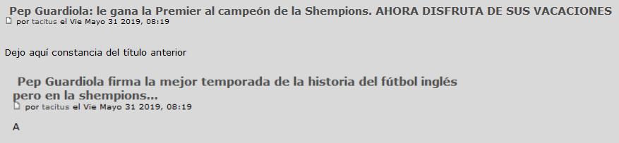 Pep Guardiola: Sigue en vigor la TREGUA VERANIEGA. Pero ya empieza La Premier. La Premier Scree388