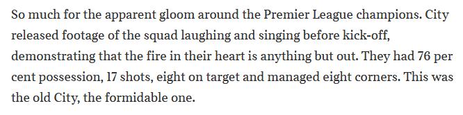 Pep Guardiola: Winter is Coming. Cae en el derbi de Manchester y se queda a 14 del líder de la Premier. La Premier - Página 12 Scree756