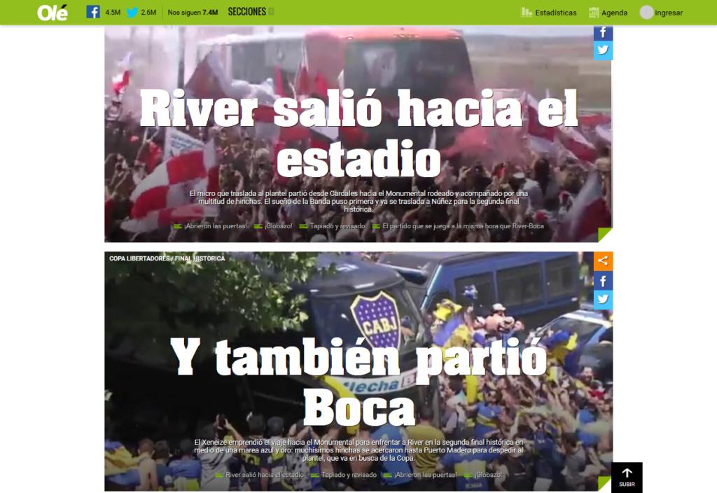 Vamos, vamos, Argentina. Esa Copa linda y deseada Screen44