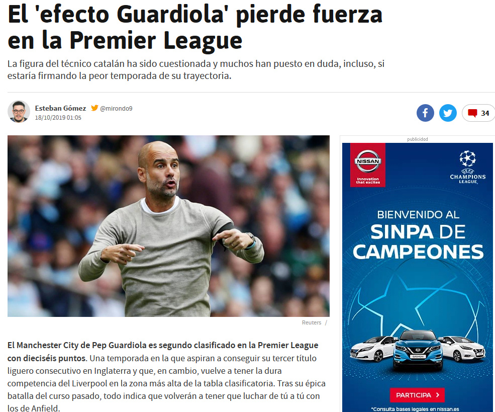 Pep Guardiola: Winter is Coming. Cae en el derbi de Manchester y se queda a 14 del líder de la Premier. La Premier - Página 6 Screen46