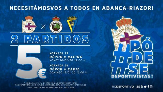 [J24] R.C. Deportivo de La Coruña - Cádiz C. F. - Domingo 19/01/2020 16:00 h. #DeporCádiz 662x3714