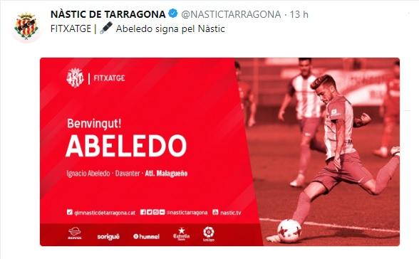 Altas y Bajas confirmadas Liga 1.2.3 Temporada 2018-2019 - Página 2 Abeled10