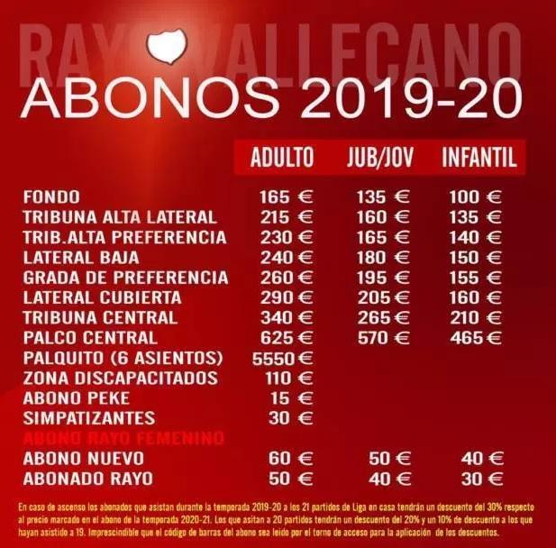 [J15] Rayo Vallecano C.F. - Cádiz C.F. - Domingo 10/11/2019 21:00 h. #RayoCádiz Abonos21