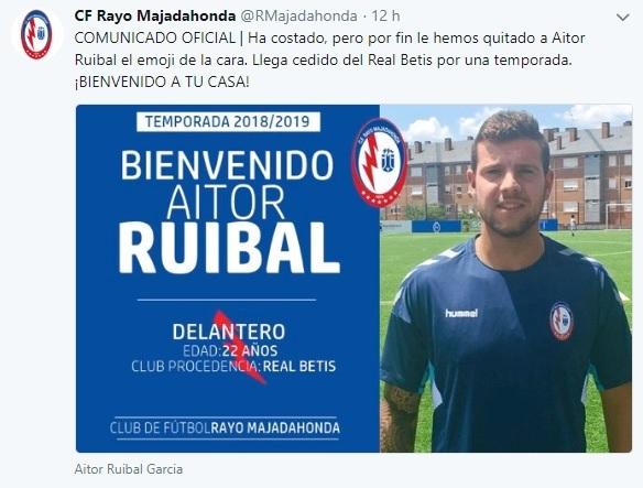 Altas y Bajas confirmadas Liga 1.2.3 Temporada 2018-2019 Aitor_10