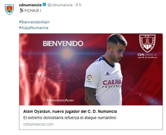 Altas y Bajas confirmadas Liga 1.2.3 Temporada 2018-2019 Alain_10