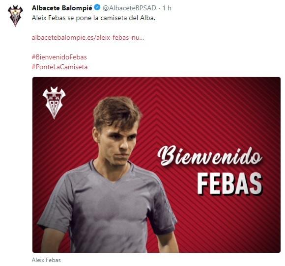 Altas y Bajas confirmadas Liga 1.2.3 Temporada 2018-2019 Aleix_10