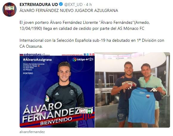 Altas y Bajas confirmadas Liga 1.2.3 Temporada 2018-2019 - Página 2 Alvaro12