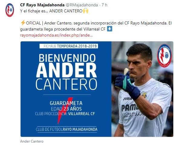 Altas y Bajas confirmadas Liga 1.2.3 Temporada 2018-2019 Ander10