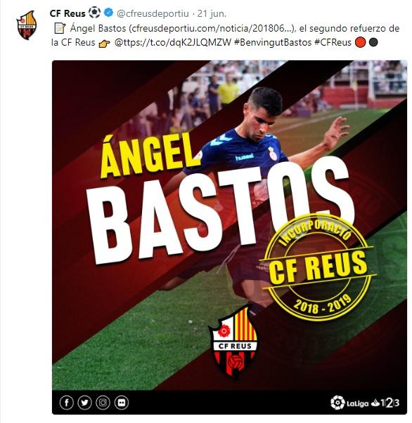 Altas y Bajas confirmadas Liga 1.2.3 Temporada 2018-2019 Angel_10
