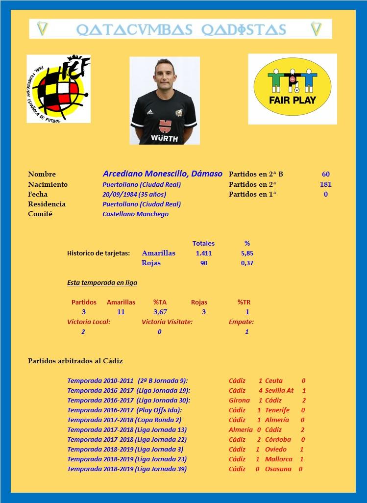 [J07] Cádiz C.F. - R.C. Deportivo de La Coruña - Sábado 21/09/2019 16:00 h. #CádizDépor Arcedi12