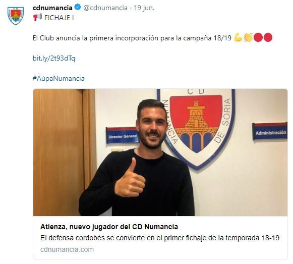 Altas y Bajas confirmadas Liga 1.2.3 Temporada 2018-2019 Atienz10