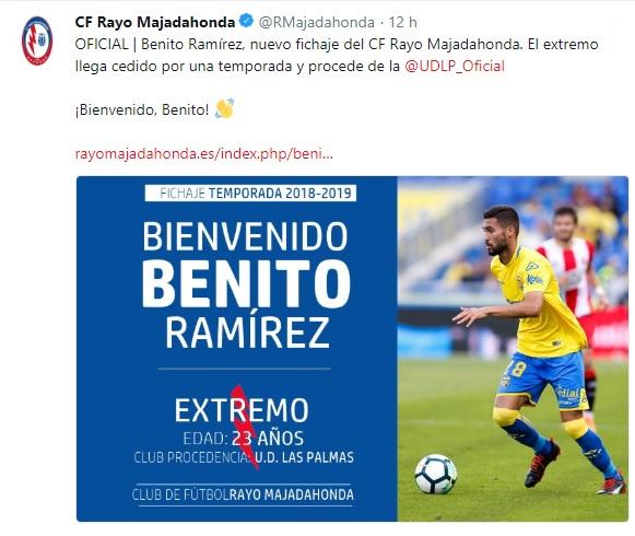 Altas y Bajas confirmadas Liga 1.2.3 Temporada 2018-2019 - Página 3 Benito10