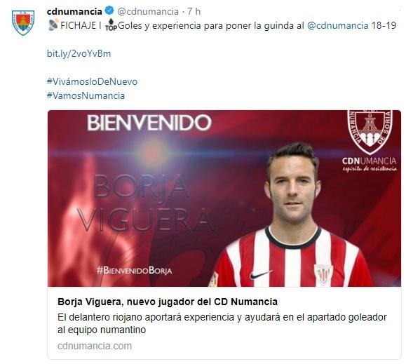 Altas y Bajas confirmadas Liga 1.2.3 Temporada 2018-2019 - Página 2 Borja10