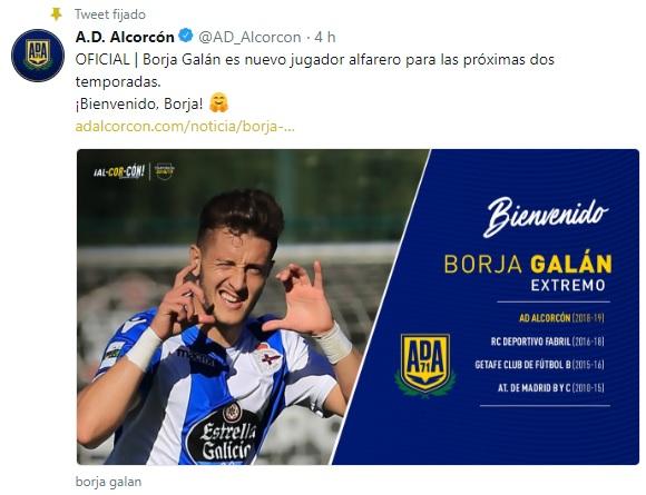 Altas y Bajas confirmadas Liga 1.2.3 Temporada 2018-2019 Borja_11