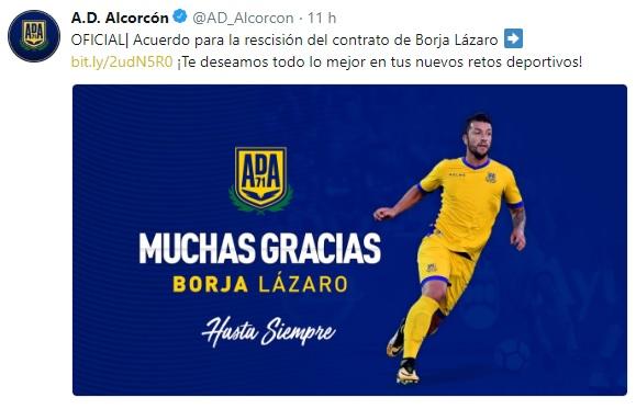 Altas y Bajas confirmadas Liga 1.2.3 Temporada 2018-2019 Borja_12