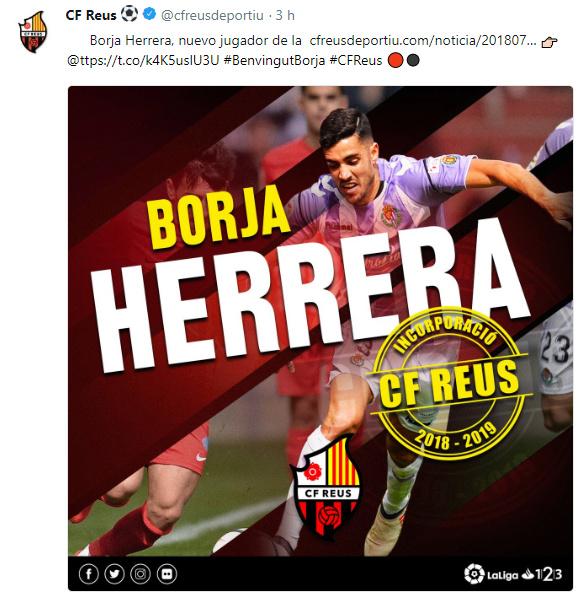 Altas y Bajas confirmadas Liga 1.2.3 Temporada 2018-2019 - Página 2 Borja_16
