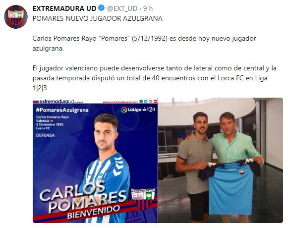 Altas y Bajas confirmadas Liga 1.2.3 Temporada 2018-2019 - Página 2 Carlos17